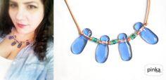 Tassel Necklace, Turquoise Necklace, Jewelry Making, Handmade, Hand Made, Jewellery Making, Craft, Make Jewelry, Diy Jewelry Making