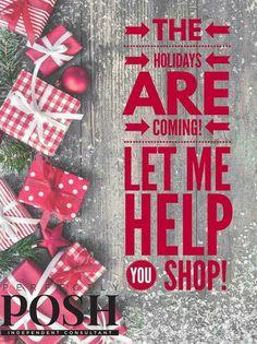 Perfectly Posh Christmas holiday graphic