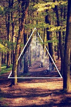 Картинка с тегом «hipster, forest, and triangle»