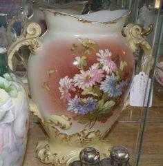 Limoges Handled Vase