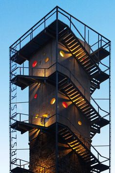 Nartarchitects completes dotted Lookout Tower in Hungary