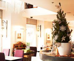 Christmas 2012 @ School restaurant & lounge Restaurant Lounge, Oversized Mirror, School, Christmas, Furniture, Home Decor, Xmas, Decoration Home, Room Decor
