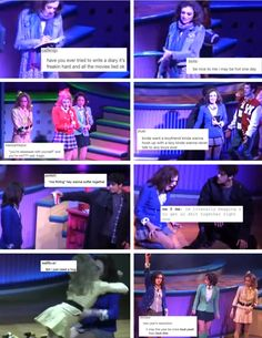 Some of my favorite Heathers the Musical textposts