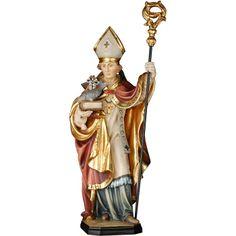 St. Benno of Meißen, Val Gardena wood carving