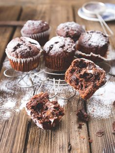 Muffins, Muffin Bread, Sweet Cakes, Cupcake Recipes, Food Inspiration, Good Food, Food And Drink, Sweets, Eat