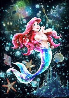 Tenyo Disney Princess Ariel the Little Mermaid Tenyo Disney Japan Jigsaw Puzzle Origin : Japan (Made in Japan) Piece : 266 pcs (small pieces) Finished Size : x cm Remarks : Transparent Stained Art and Gyutto Size Mini Puzzle Disney Princess Ariel, Disney Princess Drawings, Mermaid Disney, Princess Cartoon, Disney Little Mermaids, Ariel Wallpaper, Little Mermaid Wallpaper, Little Mermaid Art, Mermaid Wallpapers