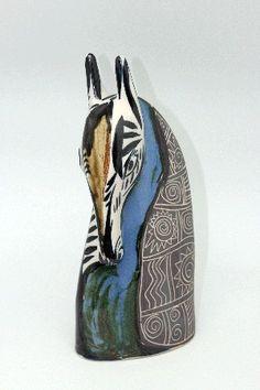 Pieza de cerámica gallega, fabricado a mano. Cerámica Regal, Premio Nacional de Artesanía, elaborada por manos artesanas con genio de artista por Otero Regal, en Viveiro, Lugo, Galicia  30 x 13 cm - Tax free $64.90
