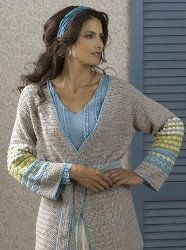 This Comfortable Napa Belted Jacket is a pattern you have to get your hands on. The colors compliment each other so well and the design is just perfect. It& an intermediate pattern but a free crochet pattern at that. Crochet Belt, Crochet Jacket, Crochet Cardigan, Crochet Shawl, Crochet Sweaters, Diy Crochet, Spiral Crochet, Crochet Things, All Free Crochet