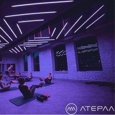 Gym is something more... New project for LOFT Fitness. Concept, Design & Production: Furniture, Steel Wall Coverings, Neons & Bespoke Lighting made by ATEPAA. Big Thanks to all LOFT & ATEPAA team and to Zuza Sadlik (graphic & logo design) & Rafał Zgud (photo).