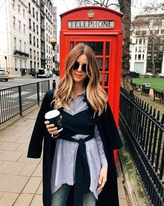 Red Telephone Booth, London Fashion Week