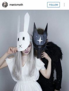 Amazing! The Night Sky and the Bunny Girl (Chiara Bautista) costumes.