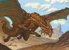 copper dragon d - Google Search