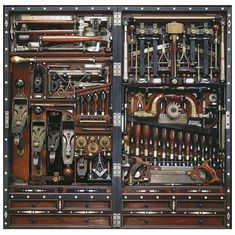 "The ""Studley"" Tool Chest - Henry O. Studley (1838-1925)"