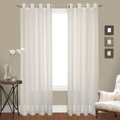 Luxury Collection Venetian Grommet Top Curtain Panel Pair - Free Shipping On Orders Over $45 - Overstock.com - 17581563 - Mobile