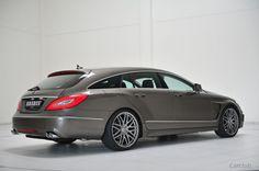 Mercedes-Benz CLS Shooting Brake   Mercedes-Benz • Mercedes-Benz CLS Shooting Brake от Brabus (2012)
