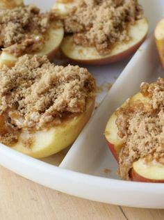 This baked apple recipe is perfect for Fall and are only a few ingredients.