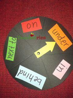 Teacherries: Prepositions