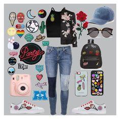 """Designer"" by genayala on Polyvore featuring Victoria, Victoria Beckham, Tejido, Ollie & B, SO, Boohoo, 3x1, Fujifilm, Stoney Clover Lane, Rebecca Minkoff and Casetify"