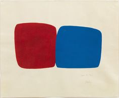 Selections from The Kramarsky Collection » David Zwirner : Ellsworth Kelly Untitled, 1964 Tempera and gouache on wove paper 25 1/2 x 30 5/8 inches (64.8 x 77.8 cm)