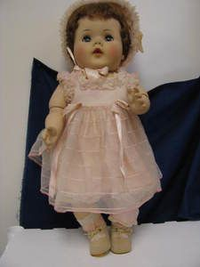"1953 American Character 21"" TOODLES Doll All Original Fully Jointed"