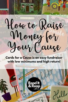 Raise money for your organization with a Cards for a Cause fundraiser
