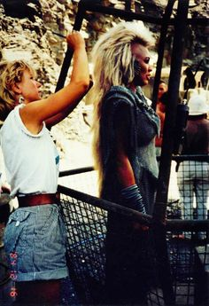 Dec. 16, 1984 — Candid photo of Tina Turner on location for Mad Max Beyond Thunderdome.