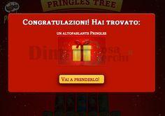 Pringles Christmas Tree – Gioca e vinci gli altoparlanti!