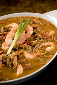 Most Southern cooks have a gumbo recipe they swear by. This is one I count on. Just look at the richness of the broth!