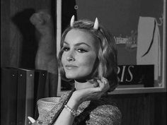 "vintagegal: "" Julie Newmar as ""Miss Devlin"" on the Twilight Zone episode 116 1963 """