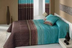 Brown and turquoise bedroom ideas — Home Furniture
