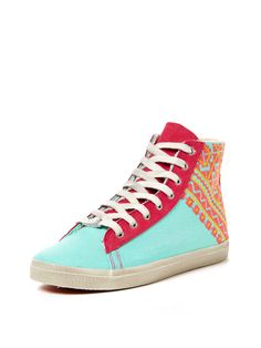 Woven High Top Sneaker by Kim & Zozi at Gilt
