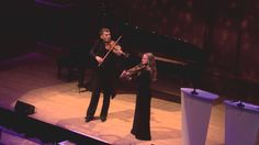 Barnabás Kelemen and Katalin Kokas play Bartók at the 2013 Gramophone Aw...
