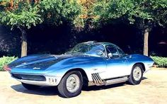 Corvette xp-755, which later became the 1963 C2 Corvette