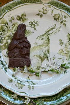 In the Potting Shed with Flopsy, Mopsy, and Cotton-tail | homeiswheretheboatis.net #Easter