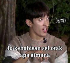 Twitter Quotes Drama Korea, Drama Memes, All Meme, Me Too Meme, Funny Kpop Memes, Stupid Funny Memes, Meme Faces, Funny Faces, Foto Meme