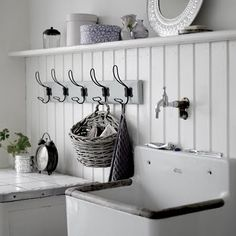 ideas for the laundry room :)