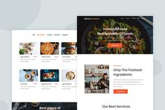 Restaurant - Email Newsletter by Ra-Themes on Envato Elements Email Templates, Newsletter Templates, Email Design, Web Design, Ra Themes, Email Newsletters, Website Template, Restaurant, Check