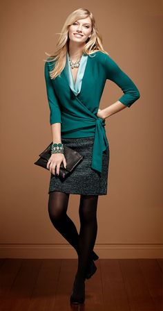Ann Taylor - ANN Must-Have Looks. Love this sweater!