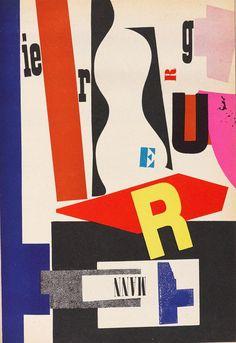 Hendrik Nicolaas Werkman - The next call, 1957