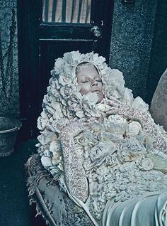 w magazine, march 2012, editorial, kate moss, steven klein, edward enninful