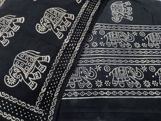 Untitled Black And Brown, Blue And White, Persian Blue, Suits For Sale, Batik Prints, Color Psychology, Elephant Print, Queen Beds, Black Fabric