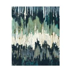 Chevron Waves Abstract Art