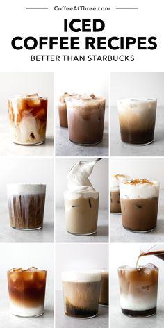Iced Coffee At Home, Iced Coffee Drinks, Coffee Drink Recipes, Starbucks Recipes, Starbucks Drinks, Starbucks Order, Starbucks Pumpkin, Healthy Coffee Drinks, Frozen Coffee Drinks