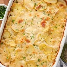 Scalloped Potatoes Easy, Scalloped Potato Recipes, Scallop Recipes, Potato Sides, Potato Side Dishes, Main Dishes, Spend With Pennies, Stuffed Mushrooms, Stuffed Peppers