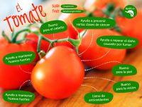 Beneficios del tomate #comerbien #vidasana #alimentos #salud #tomate