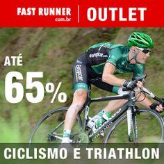 Encontre produtos para ciclismo e triathlon com descontos imperdíveis no site Fast Runner.