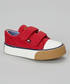 best service 9c212 d07aa Another great find on  zulily! Red Strap Cormac Sneaker by Tommy Hilfiger   zulilyfinds