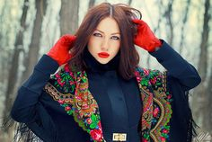 Russian scarves shawls pavlovo posad - The russian style - #fashion #moda - #mode