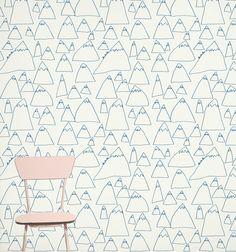 mountains wallpaper from Fine Little Shop
