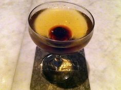 The Spanish Harlem – tanteo cocoa infused tequila, maraschino liqueur, agave nectar, chocolate-chili bitters.. though a bit too sweet for my tastes, it was still refreshing…